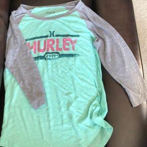 Hurley Baseball Tee